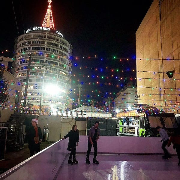 New Star in Town: Glice® Synthetic Ice Rink in Hollywood