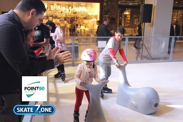 Newly Opened Glice® Synthetic Ice Rink at Point 90 Mall in Cairo