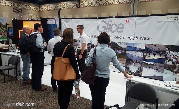 Le piste in ghiaccio sintetico Glice® grande attrazione per il pubblico in una fiera tenutasi di recente in Ohio