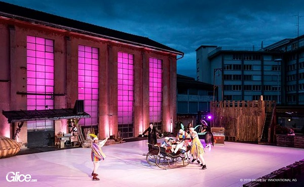 Open Air Shakespeare on Glice® Synthetic Ice in Lucerne, Switzerland