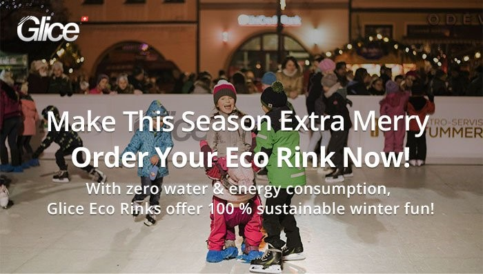 Order Your Glice Synthetic Ice Christmas Rink Now!