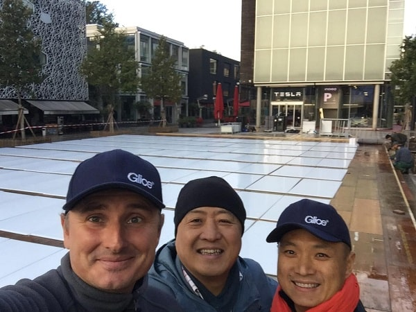 Our Glice Teams around the World Are Ready to Install Your Synthetic Ice