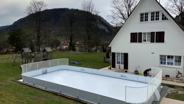 Our Synthetic Ice Rinks Are Skating into Backyards Everywhere