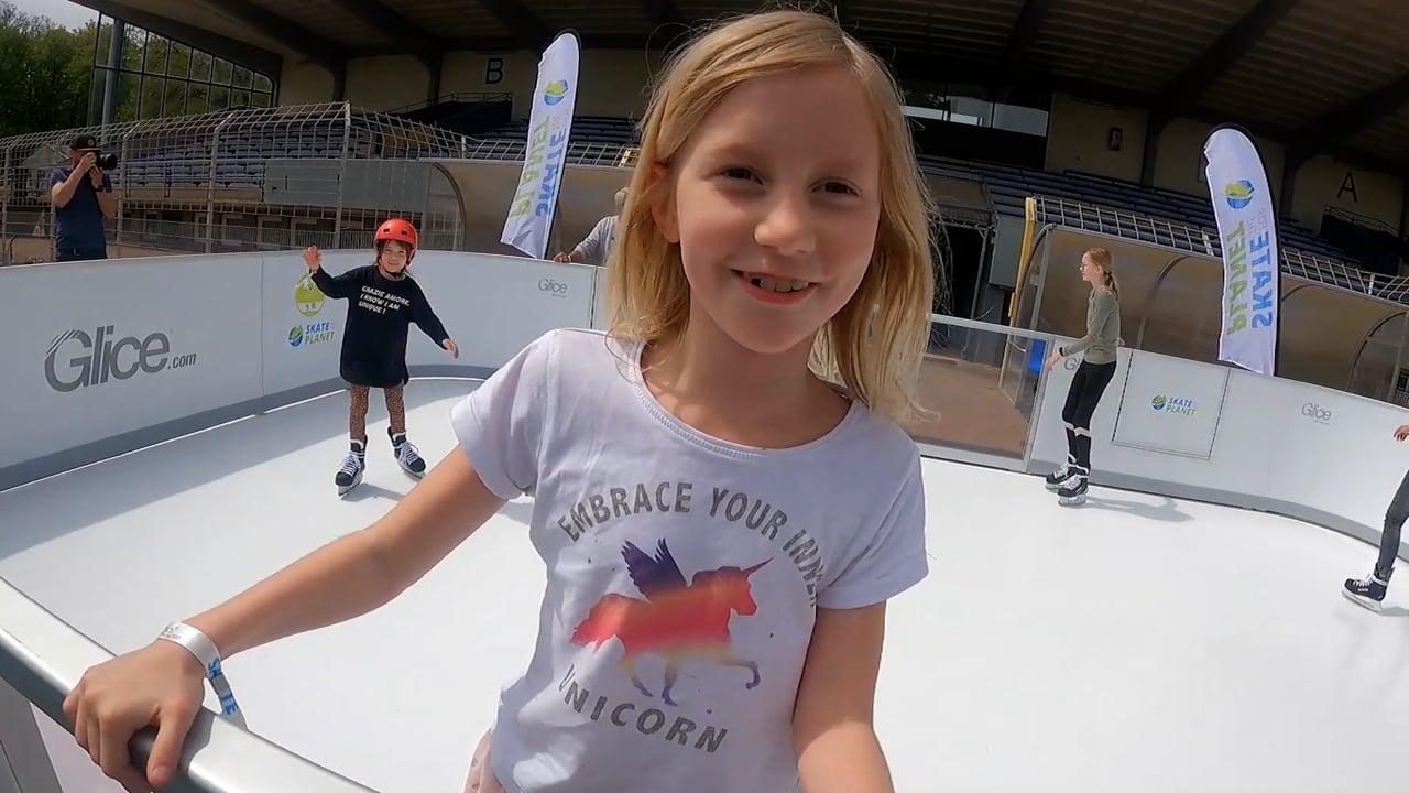 Patinez pour la Planète avec les patinoires en glace synthétique de Glice !