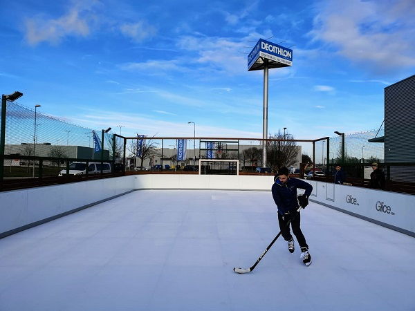 Decathlon Chooses Synthetic Ice by Glice