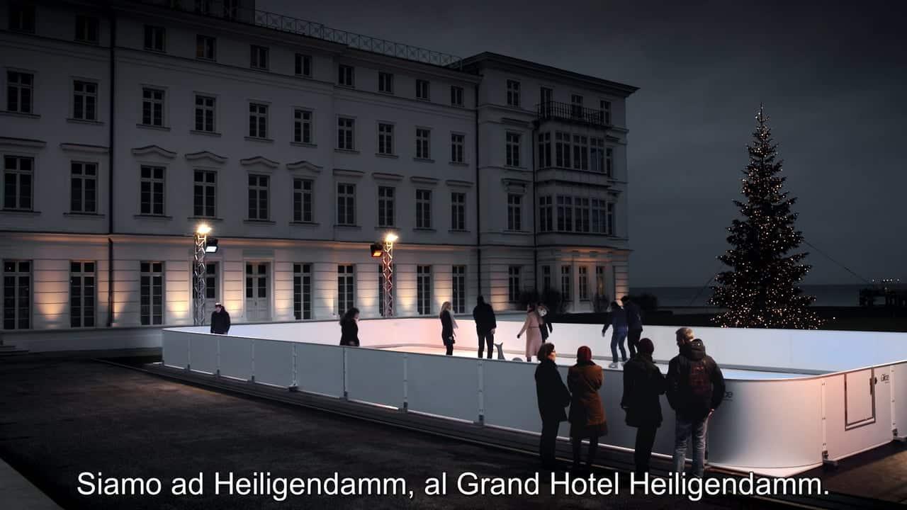Perché il Grand Hotel Heiligendamm in Germania ha scelto una Pista in Ghiaccio Sintetico Glice®