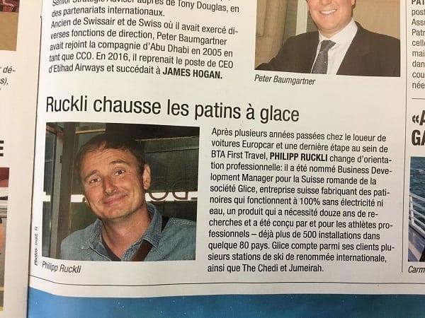 Notre nouveau Business Development Manager pour la Suisse romande est présenté dans le dernier numéro (29/2108) du « Travel-Inside », le journal suisse du tourisme.