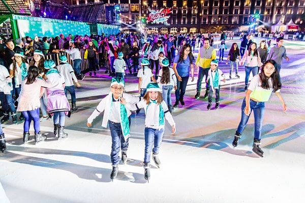 World's Biggest Skating Rink in Full Swing: Glice Eco-Rink in Mexico City