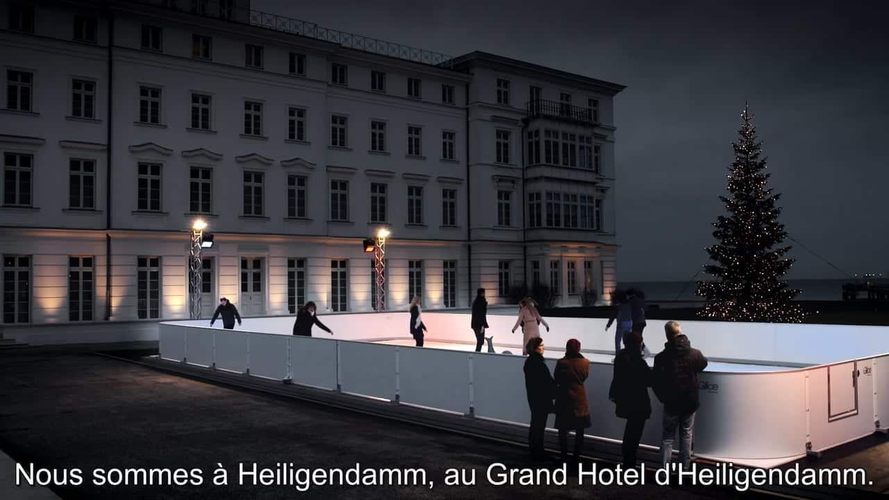 Pourquoi le Grand Hotel Heiligendamm en Allemagne a choisis une patinoire synthétique de Glice®