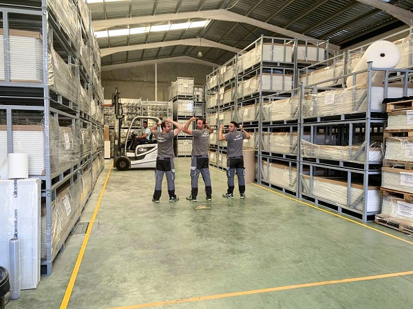 Ready for Your Order: New Glice® Synthetic Ice Warehouse Up and Running!