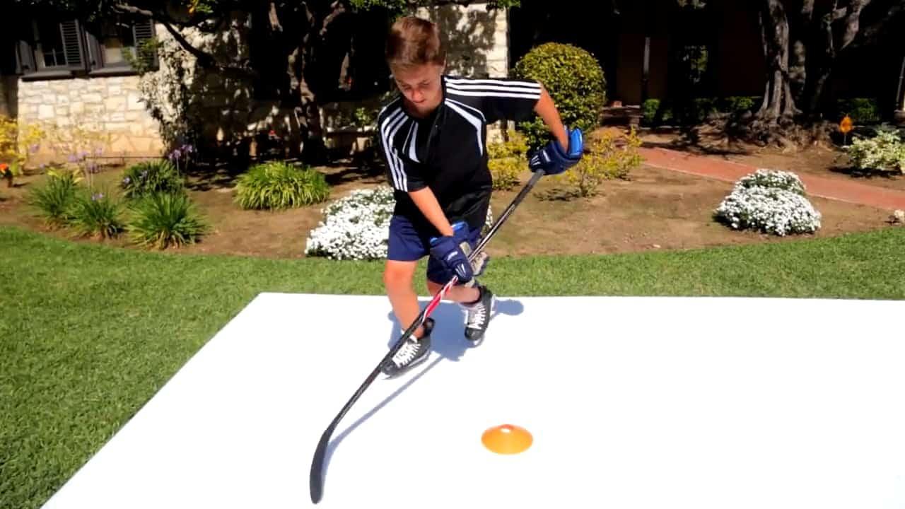 Revolutionieren Sie Ihr Eislauf Training mit synthetischen Glice® Pads für den Einsatz zu Hause