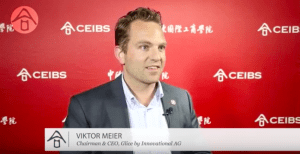 Glice Co-Founder Viktor Meier at the Sino-Swiss Innovation Forum