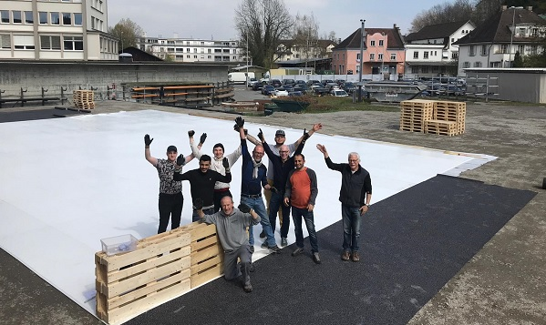 Shakespeare on Glice®: Artificial Ice Rink as Stage for a Play in Lucerne