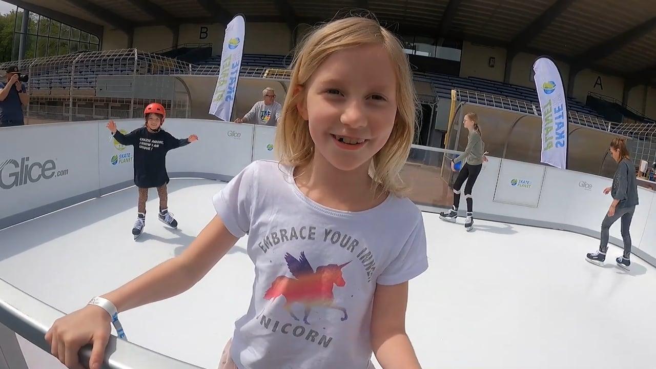 Skate for the Planet com Gelo Sintético Glice!