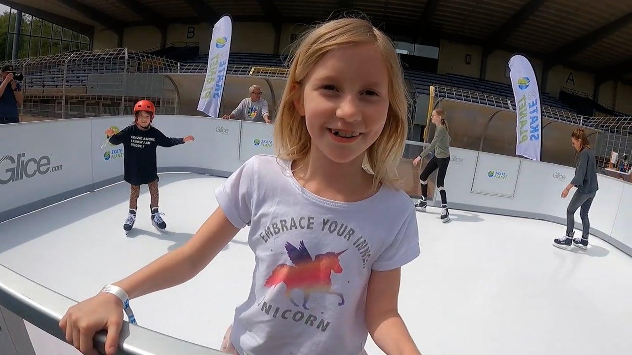 Skate for the Planet con il Ghiaccio Sintetico Glice!