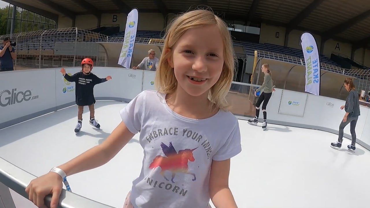 Skate for the Planet mit Glice Synthetikeis!