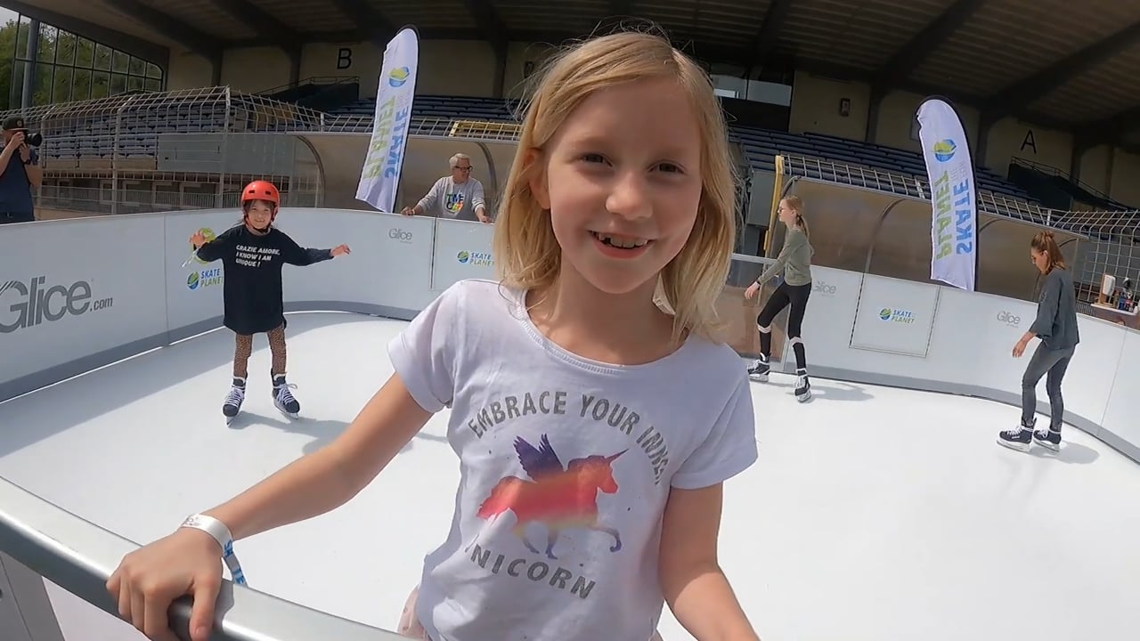 Skate for the Planet with Glice Synthetic Ice!