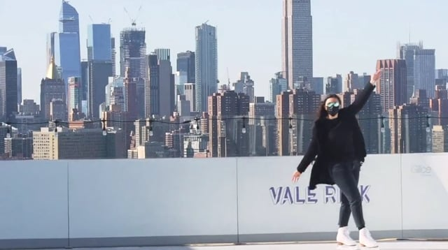 Skyline Skating with Glice Synthetic Ice at the William Vale in New York