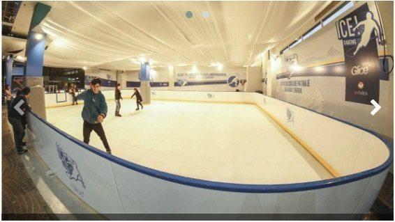Profidelis inauguró Ice X-Kating en Patio Olmos (hielo ecológico a cero gasto de agua y energía)