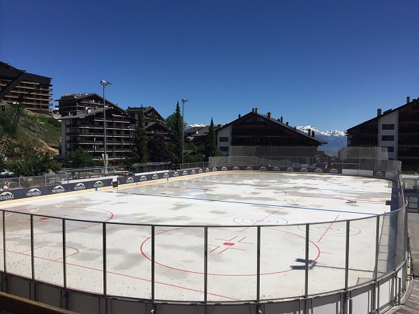 Glice Synthetic Ice to Replace Refrigerated Rink in Nendaz, Switzerland