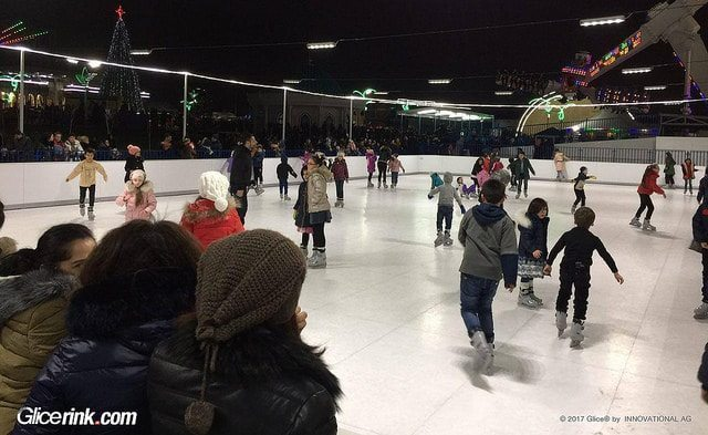 Successful opening and operation of Tashkent Glice® premium synthetic ice rink