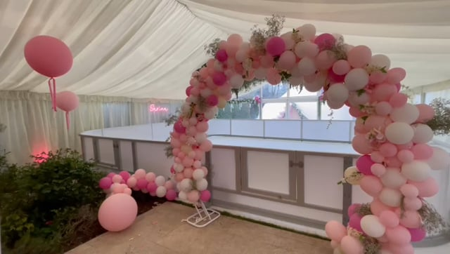 Sweet Glice Synthetic Ice Rink Birthday Rental in the UK