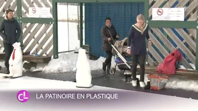 Glice® La innovación en hielo sintético presentado por la televisión Franco-Suiza RTS