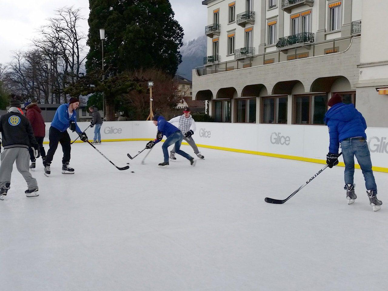 Swizterland hockey Glice ice sheets