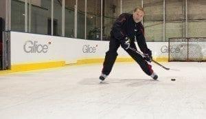 Synthetic Ice Rink Hockey