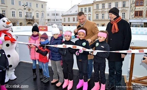 Largest Glice® Synthetic Ice Rink in Czech Republic Replaces Conventional Rink