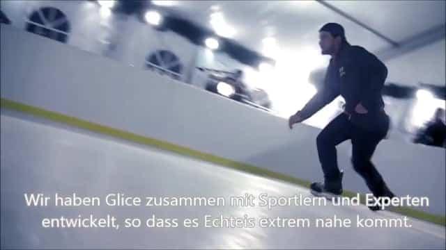 Glice® synthetische Eisfläche im Weltweit führenden Zoo