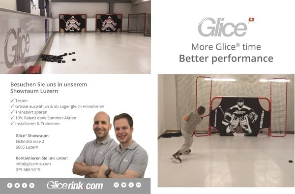 Glice® synthetische Eis Pads: more Glice-Time, better performance