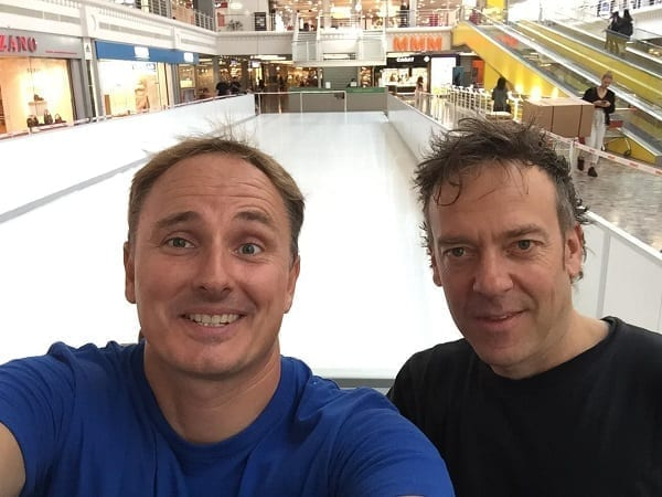 Installation of Glice® Synthetic Ice Rink at Balexert Shopping Mall in Geneva