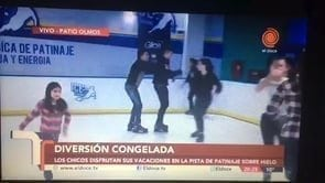 TV-Station El Doce TV Airs Clip of First Glice® Synthethic Ice Rink in Argentina