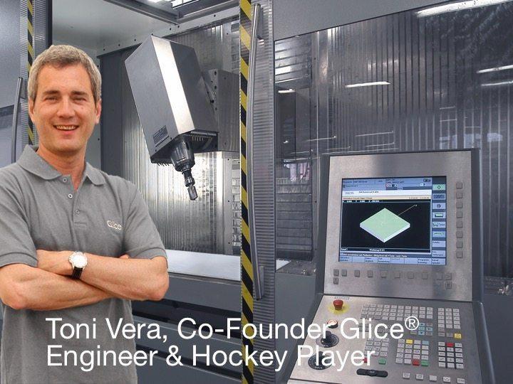 Toni Vera o homem por trás da invenção do Glice® gelo de plástico
