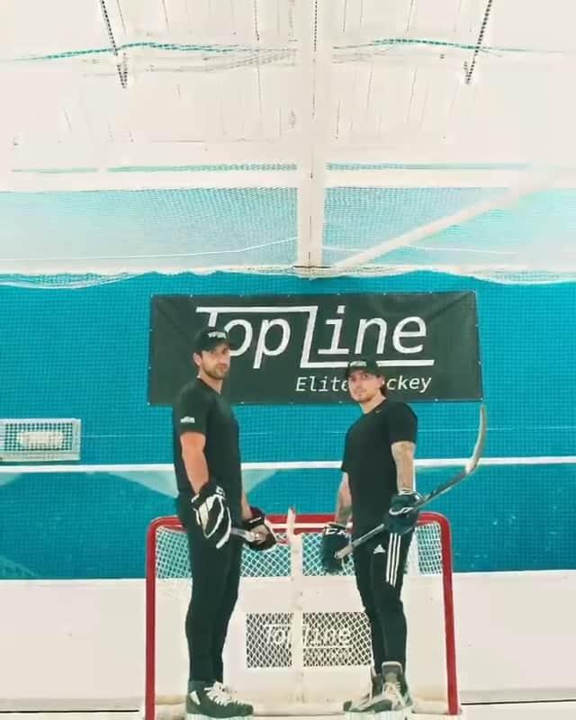 Topline Hockey in den USA nutzt Glice synthetische Eisbahn für Elite Trainingsprogramm