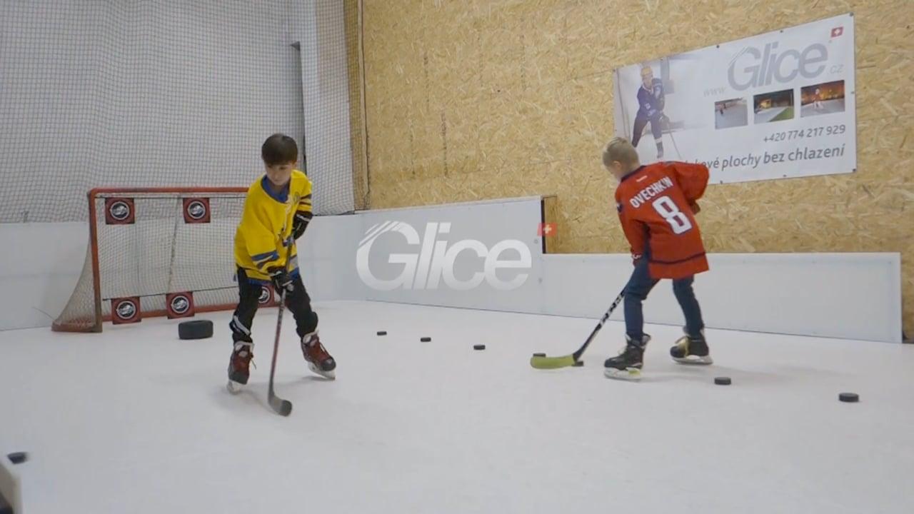 Hokejové tréninkové centrum v Třebíčí – DoToHo Arena, používá led Glice®