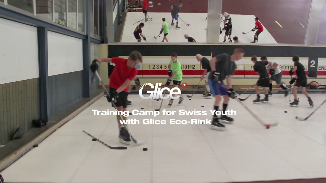 Training Camp for Swiss Youth with Glice® Synthetic Ice Rink
