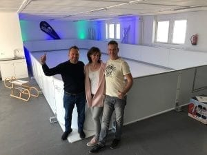 When in Berlin – Stop by Our Synthetic Ice Showroom