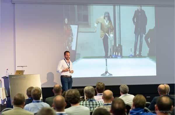 Il CEO Viktor Meier Presenta la Brillante Storia delle Piste in Ghiaccio Artificiale Glice® come Relatore Principale all'Evento Adeon