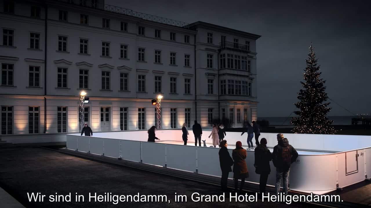Warum das Grand Hotel Heiligendamm sich für eine Glice® synthetische Eisbahn entschieden hat