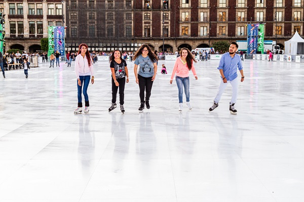 Soft Opening: First Public Skating on the World's Largest Eco-Rink in Mexico