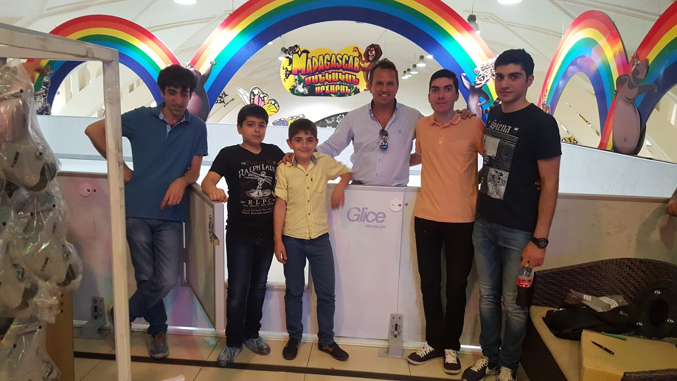 First Glice® synthetic ice rink in Armenia