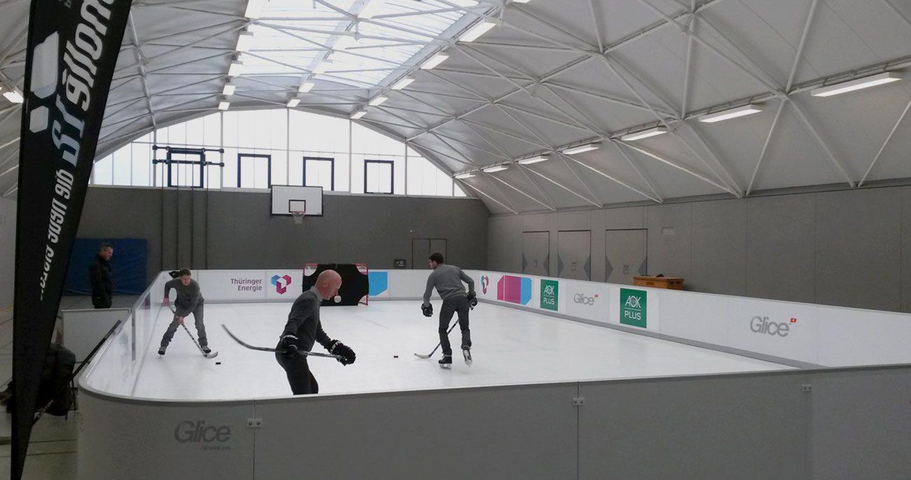 ice hockey rinks - Glicerink