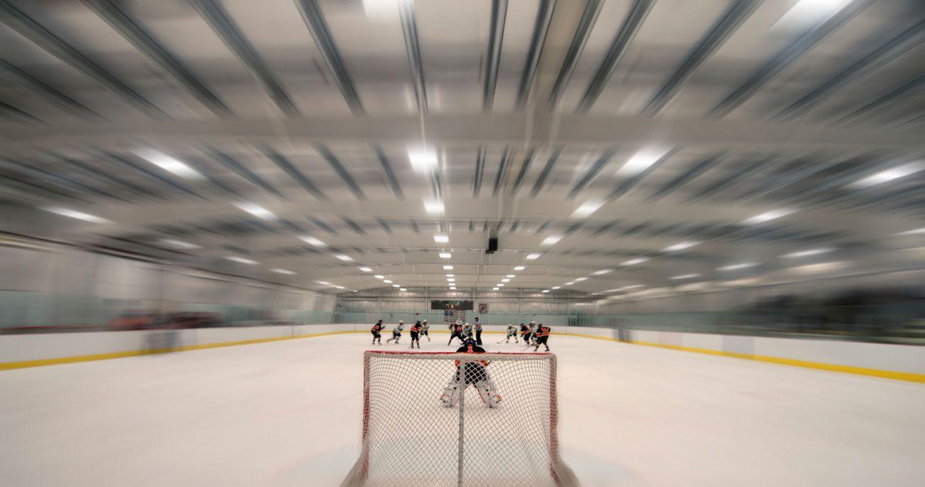ice hockey rinks