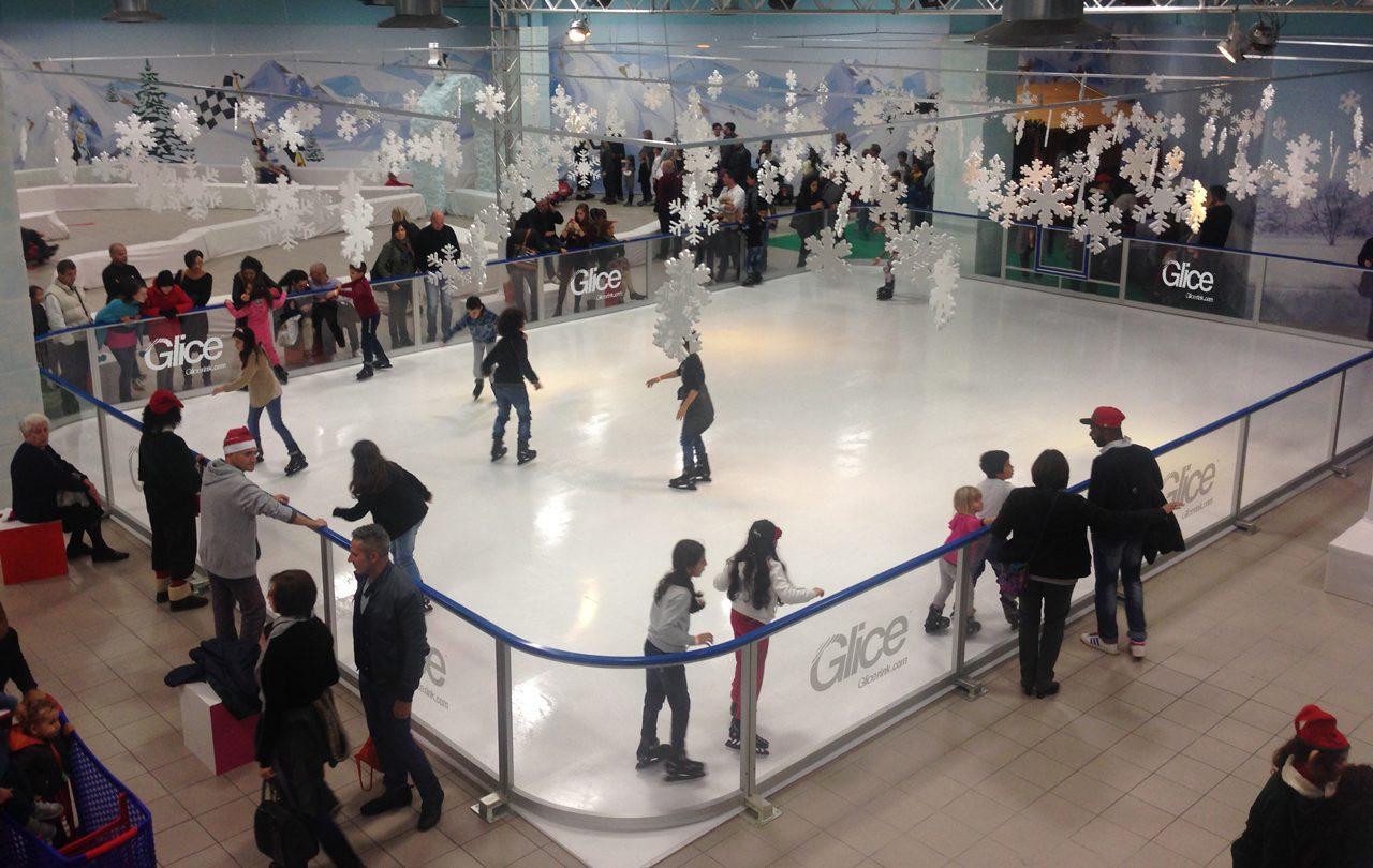 Le meilleur emplacement pour votre entreprise de patinoire avec de la glace synthétique