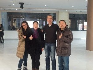 Glice Co-founder Toni Vera at the inauguration of our latest China installation in Shanxi.