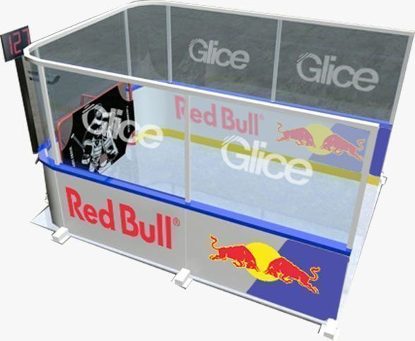 ice panels - Glicerink