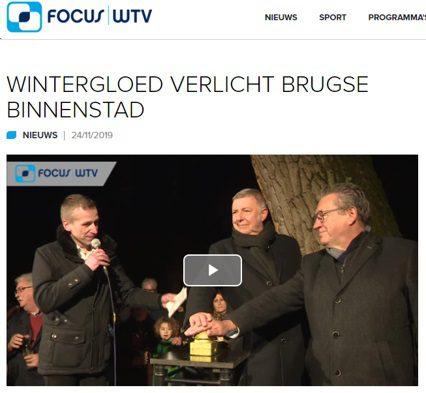 Focus WTV nam een kijkje in Brugge voor de opening van het nieuwe winter gebeuren met in het middelpunt een synthetische ijsbaan van Glice.